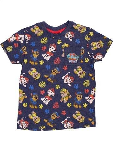 T-shirt manches courtes garçon MATALAN gris 4 ans été #1433016_1