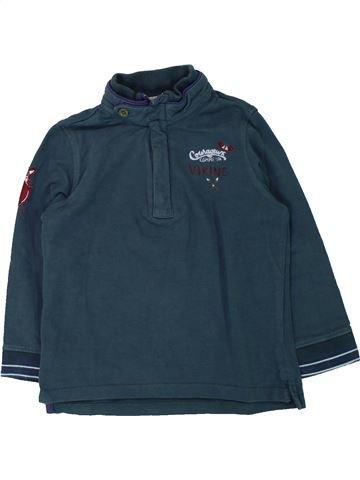 T-shirt manches longues garçon SERGENT MAJOR bleu 3 ans hiver #1433122_1