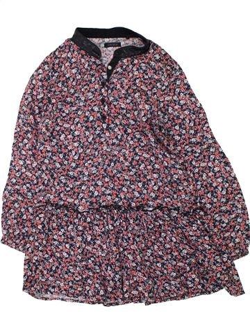 Robe fille IKKS gris 6 ans hiver #1433158_1