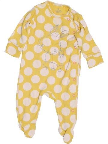 Pijama de 1 pieza niña NEXT amarillo 3 meses invierno #1433161_1