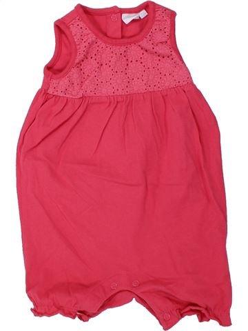 Combinación corta niña DEBENHAMS rosa 9 meses verano #1433182_1