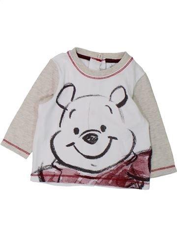 T-shirt manches longues garçon KIABI blanc 6 mois hiver #1433195_1