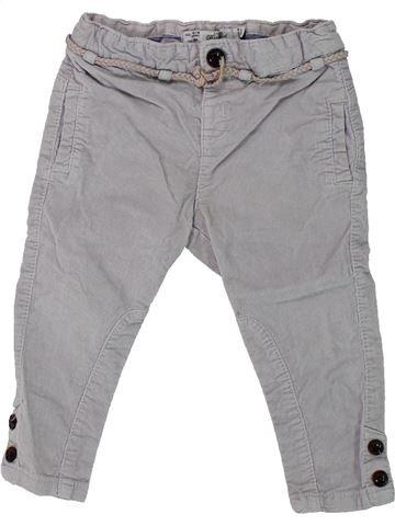 Pantalon fille ZARA gris 18 mois hiver #1433220_1