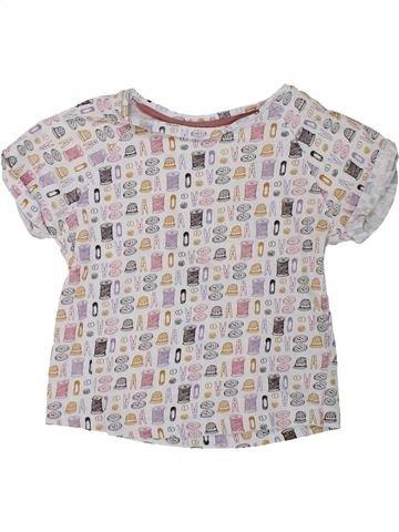 T-shirt manches courtes fille MONOPRIX gris 3 ans été #1433286_1