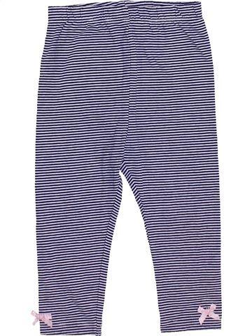 Legging fille GEORGE violet 12 mois hiver #1433292_1