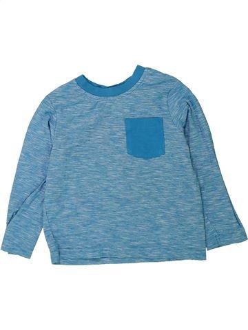Camiseta de manga larga niño GEORGE azul 3 años invierno #1433342_1