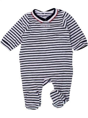 Pijama de 1 pieza niño JACADI negro 3 meses invierno #1433370_1