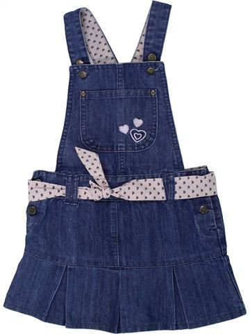 Vestido niña KIMBALOO azul 2 años invierno #1433395_1