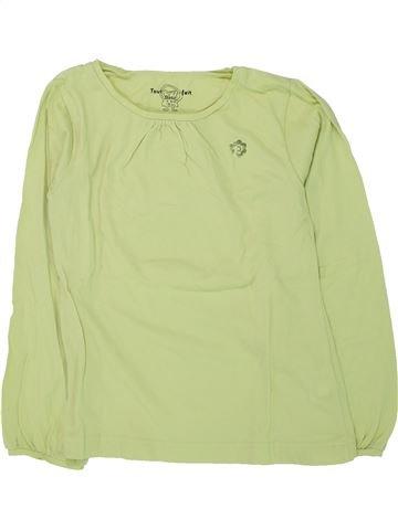 Camiseta de manga larga niña TOUT COMPTE FAIT verde 8 años invierno #1433414_1