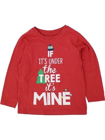 Camiseta de manga larga niño NUTMEG rojo 4 años invierno #1433497_1