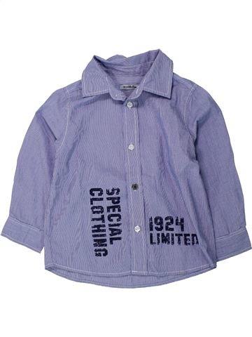 Camisa de manga larga niño TAPE À L'OEIL azul 4 años invierno #1433519_1
