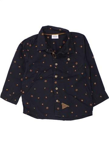 Camisa de manga larga niño TAPE À L'OEIL azul oscuro 2 años invierno #1433568_1