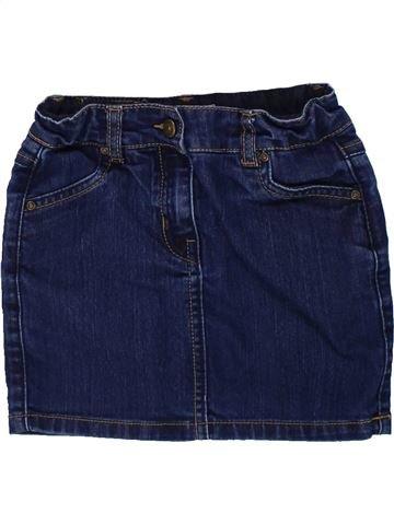 Falda niña DPAM azul 6 años invierno #1433638_1