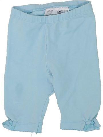 Legging niña H&M azul 9 meses invierno #1433646_1