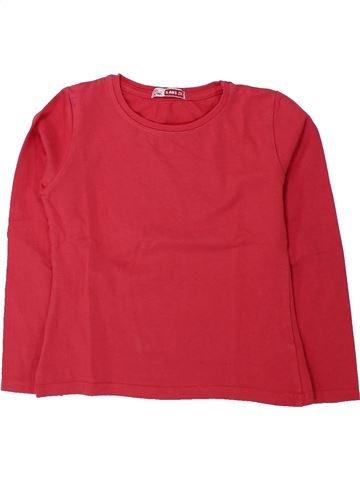 Camiseta de manga larga niña DPAM rosa 5 años invierno #1433654_1