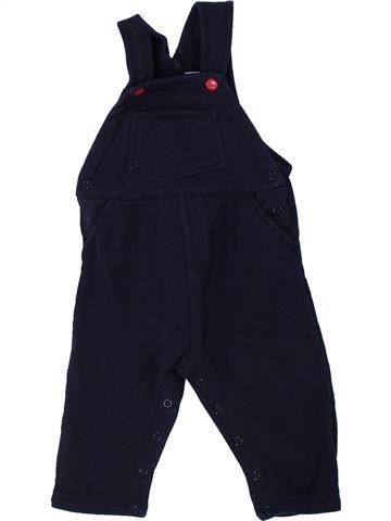 Mono niño PETIT BATEAU negro 12 meses invierno #1433717_1
