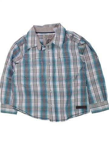 Camisa de manga larga niño OKAIDI azul 3 años invierno #1433769_1