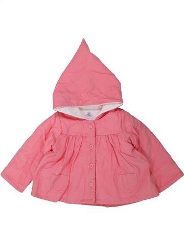 Chaqueta niña PETIT BATEAU rosa 12 meses invierno #1433963_1