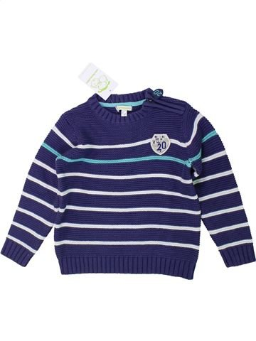 jersey niño VERTBAUDET azul 5 años invierno #1433971_1