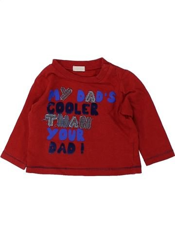 T-shirt manches longues garçon BAMBINI violet 6 mois hiver #1434015_1