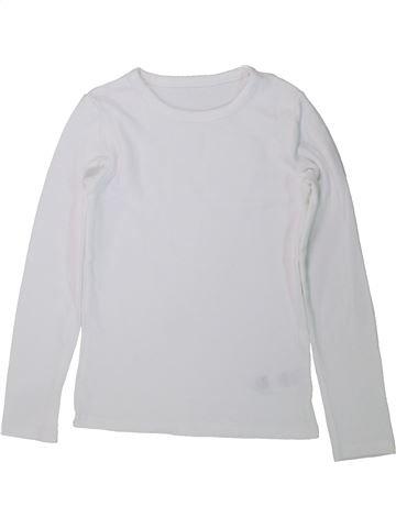 Camiseta de manga larga niña MARKS & SPENCER blanco 10 años invierno #1434187_1