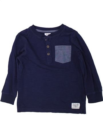 Camiseta de manga larga niño F&F azul 4 años invierno #1434224_1