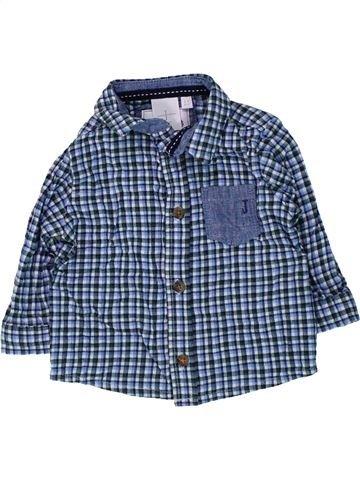 Camisa de manga larga niño JASPER CONRAN azul 6 meses invierno #1434350_1