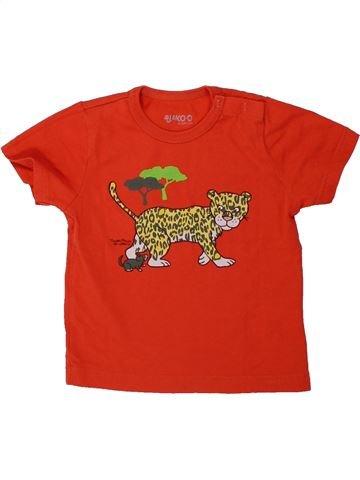 T-shirt manches courtes garçon JAKO-O rouge 2 ans été #1434372_1