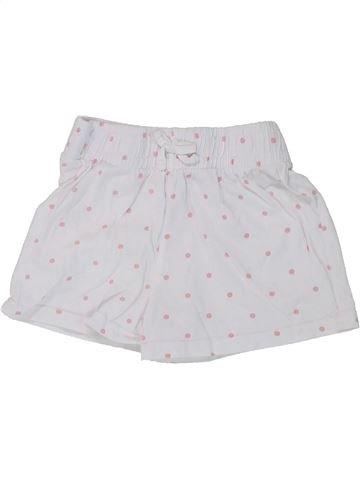 Short-Bermudas niña MATALAN blanco 5 años verano #1434498_1