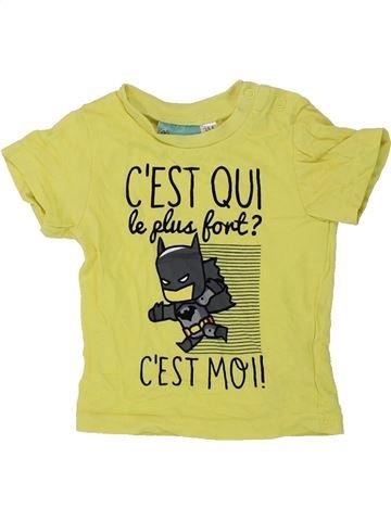 Camiseta de manga corta niño SUPERS HÉROS verde 3 meses verano #1434717_1