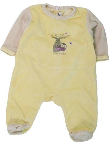 Pijama de 1 pieza niño SUCRE D'ORGE beige 3 meses invierno #1434752_1