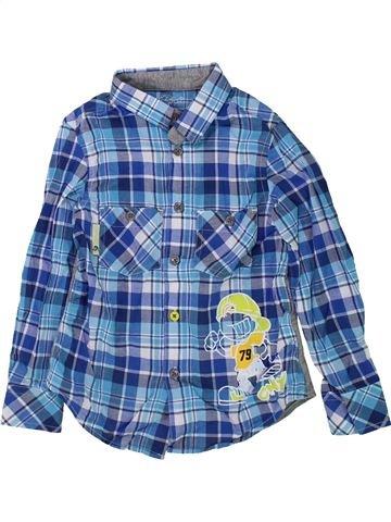 Chemise manches longues garçon COMPLICES bleu 5 ans hiver #1434814_1