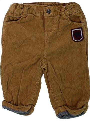 Pantalón niño CADET ROUSSELLE marrón 6 meses invierno #1434946_1