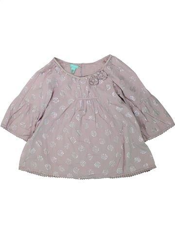 Blusa de manga corta niña MONSOON gris 9 años verano #1435544_1