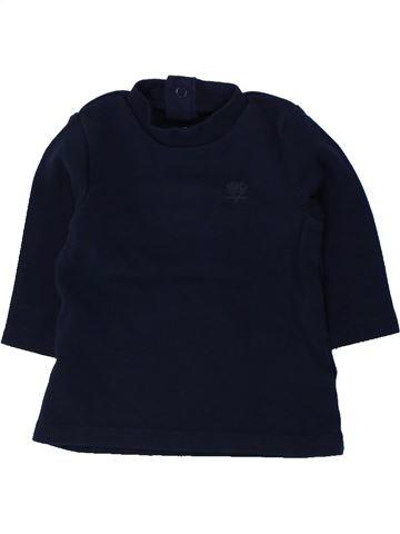 T-shirt manches longues garçon ORCHESTRA noir 3 mois hiver #1436224_1