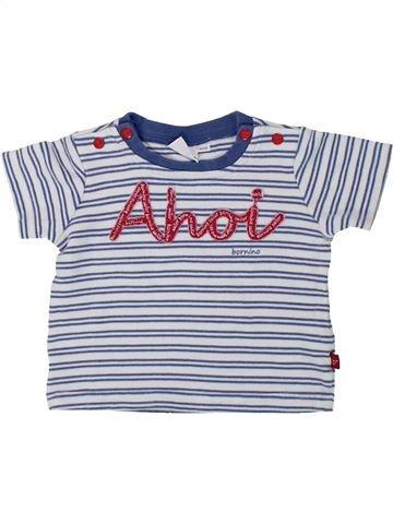 T-shirt manches courtes garçon BORNINO blanc 6 mois été #1436306_1