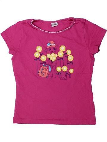 T-shirt manches courtes fille S.OLIVER rose 9 ans été #1436317_1