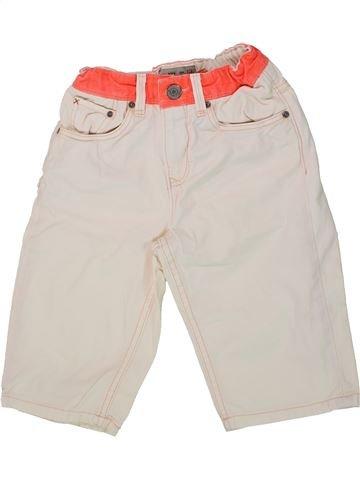 Short - Bermuda garçon ZARA blanc 8 ans été #1436413_1