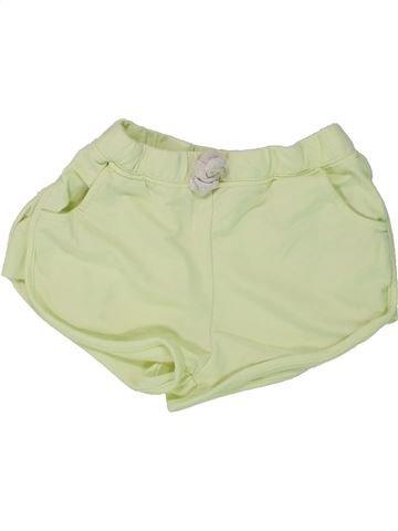 Short - Bermuda fille I LOVE GIRLSWEAR vert 7 ans été #1436461_1