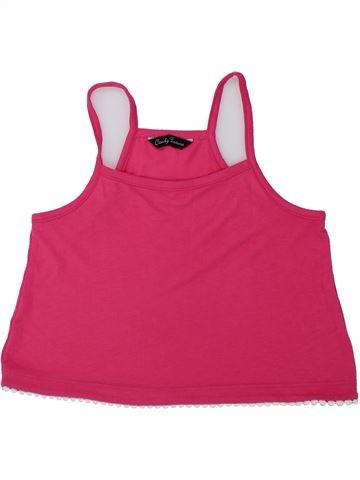 Camiseta sin mangas niña CANDY COUTURE rosa 9 años verano #1436580_1
