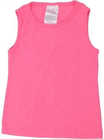 T-shirt sans manches fille E-VIE ANGEL rose 2 ans été #1437317_1