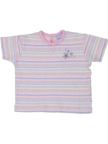 Camiseta de manga corta niña CHEROKEE blanco 3 meses verano #1437465_1