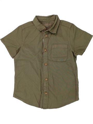 Chemise manches courtes garçon DUDES vert 7 ans été #1437497_1