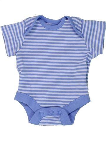T-shirt manches courtes garçon F&F bleu prématuré été #1437630_1