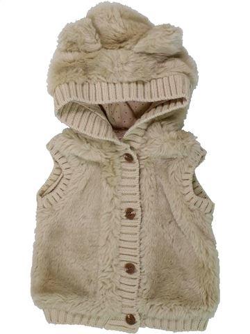 Gilet fille MAYORAL beige 9 mois hiver #1437866_1