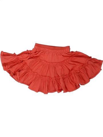 Falda niña LILI GAUFRETTE rojo 2 años verano #1437885_1
