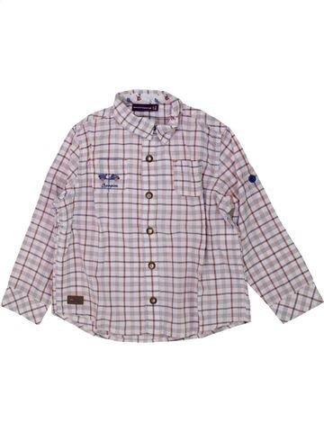 Chemise manches longues garçon SERGENT MAJOR gris 3 ans hiver #1438122_1