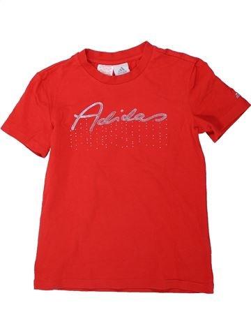 T-shirt manches courtes fille ADIDAS rouge 12 ans été #1438196_1