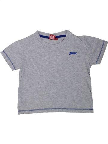 T-shirt manches courtes garçon SLAZENGER gris 3 ans été #1438240_1