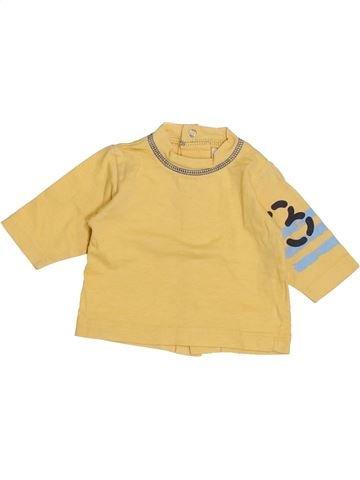 Camiseta de manga larga niño 3 POMMES amarillo 1 mes invierno #1439406_1